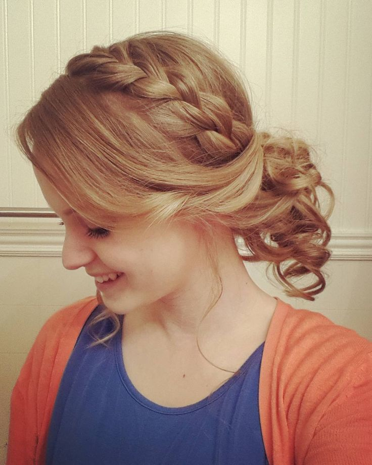 7 Stunning French Braided Buns For Women Hairstylecamp