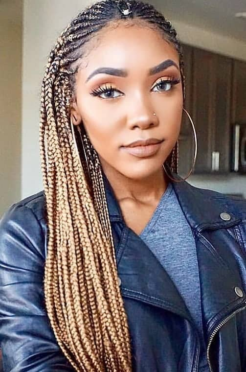 31 Mesmerizing Fulani Braids for Bold Women – HairstyleCamp