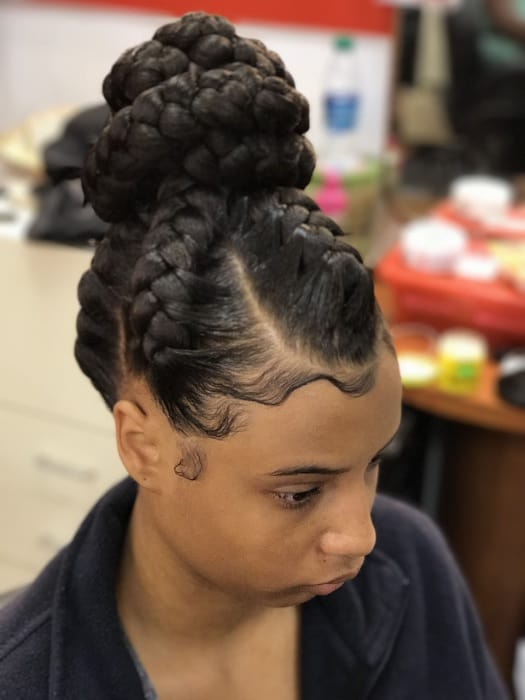 105 Cutest Braided Updo Hairstyles For 2020 Hairstyle Camp