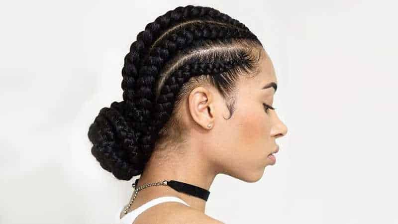 10 Flattering Goddess Braids Updo Hairstyles For Women