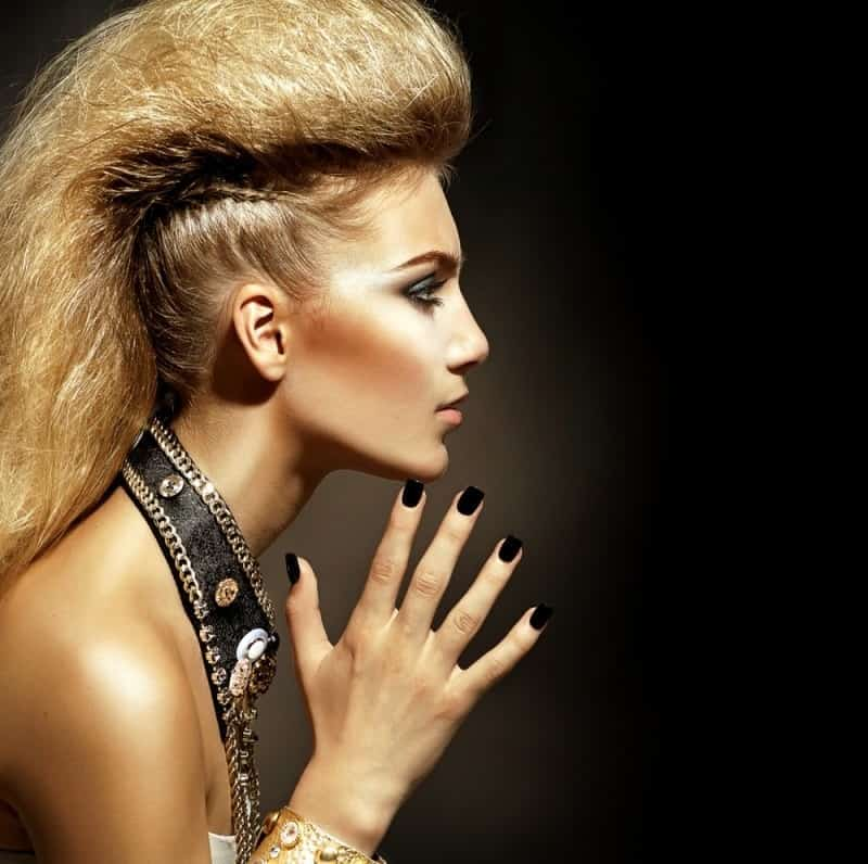 35 Outrageous Gothic Hairstyles , Go Insane With Style
