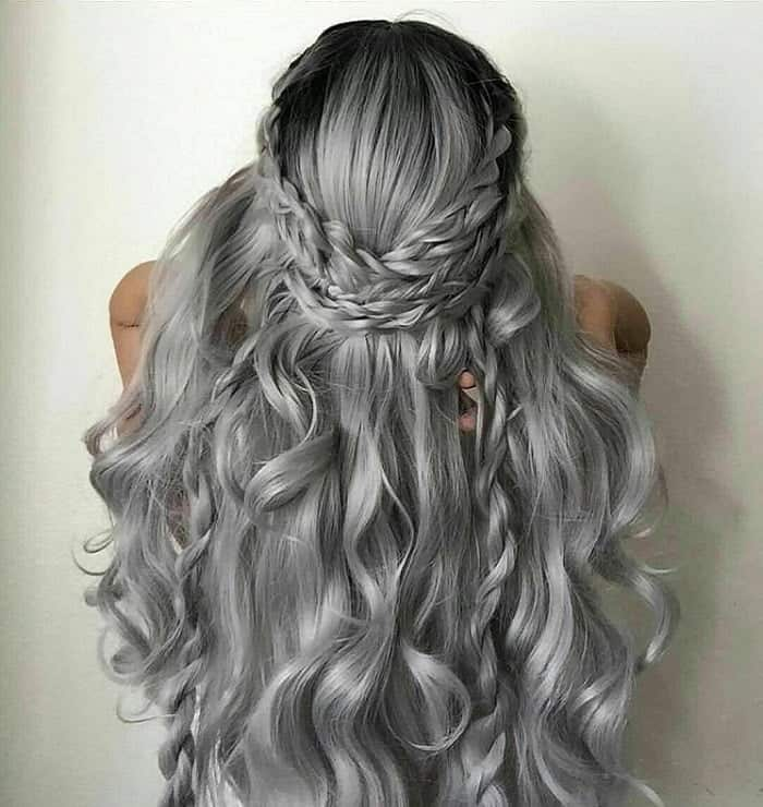 61 Gorgeous Gray Hair Color Ideas for Women – HairstyleCamp