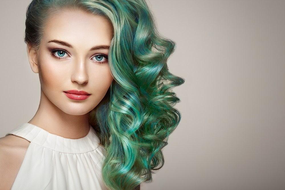 15 Green Ombre Hair Looks Trending In 2021