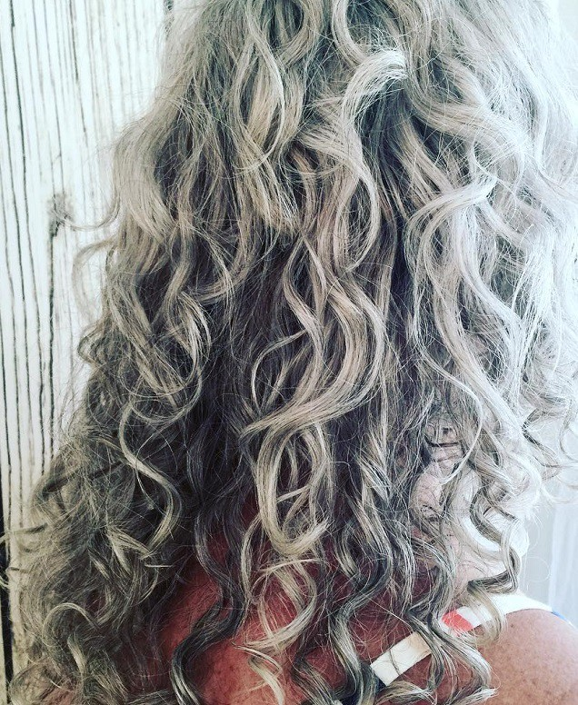 Grey Curly Hair 15 Beautiful Styles To Rock On