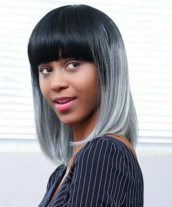 7 Minimalist Short Grey Ombre Hairstyles For Women 2019