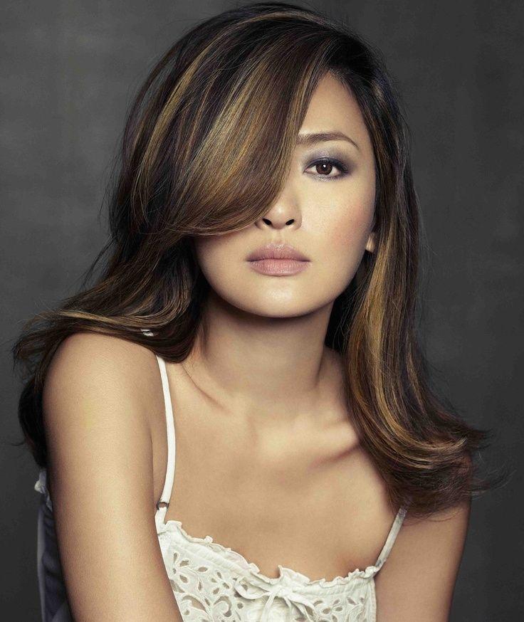 Hair Color For Asian women