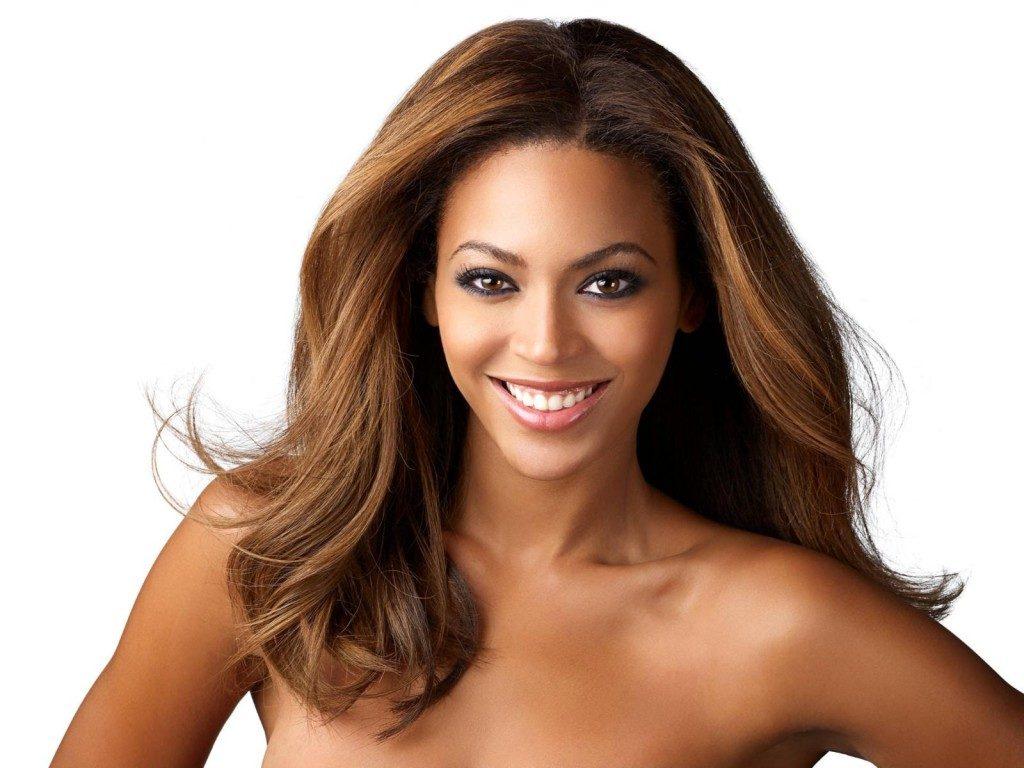 Golden brown hair color for black tan skin women