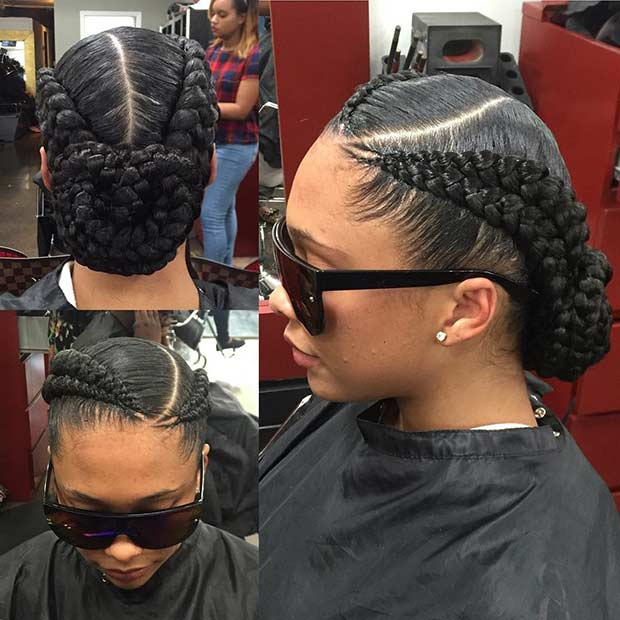 11 Two Cornrow Styles To Stay Glamorous In 2019 Hairstylecamp