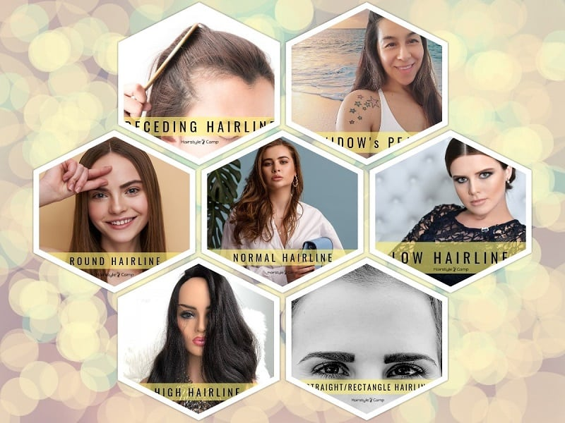 Different Types Of Hairlines For Women With Photos