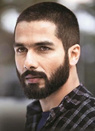 buzz cut with beard for indian boys