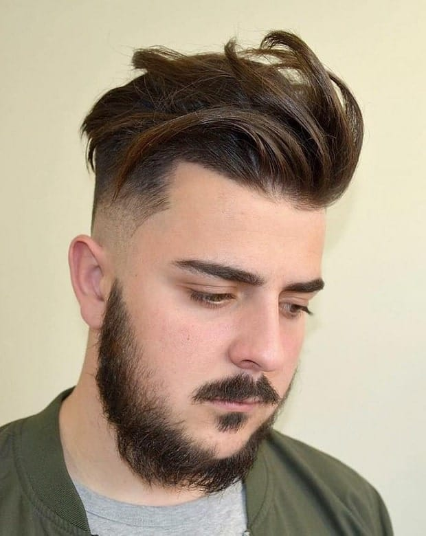 60 Distinctive Hairstyles for Men With Round Faces