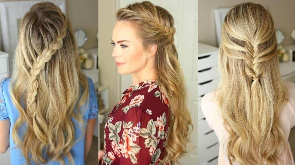 10 Edgy Half Braided Hairstyles For Black Hair Hairstylecamp