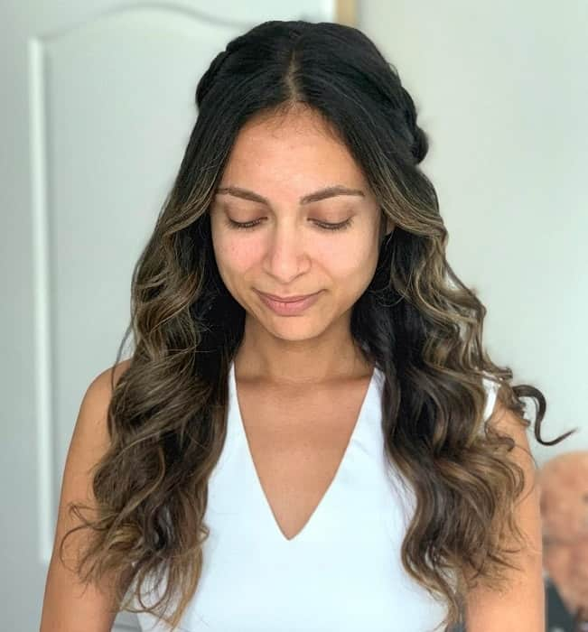 75 Best Half Up Half Down Hairstyles To Try In 2020