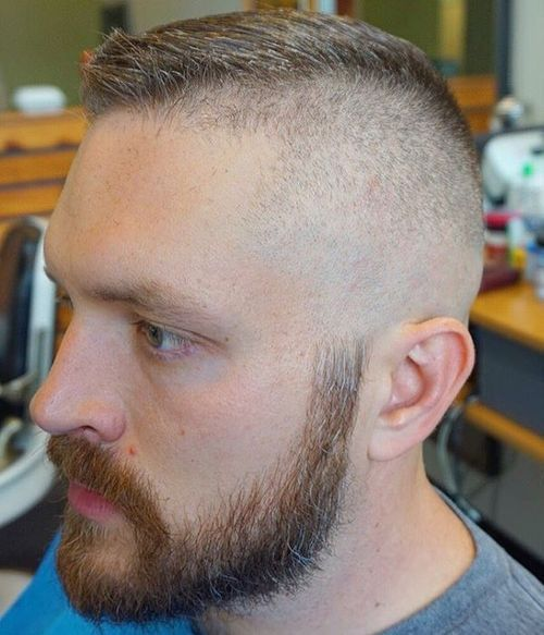 high and tight army hairstyle for men