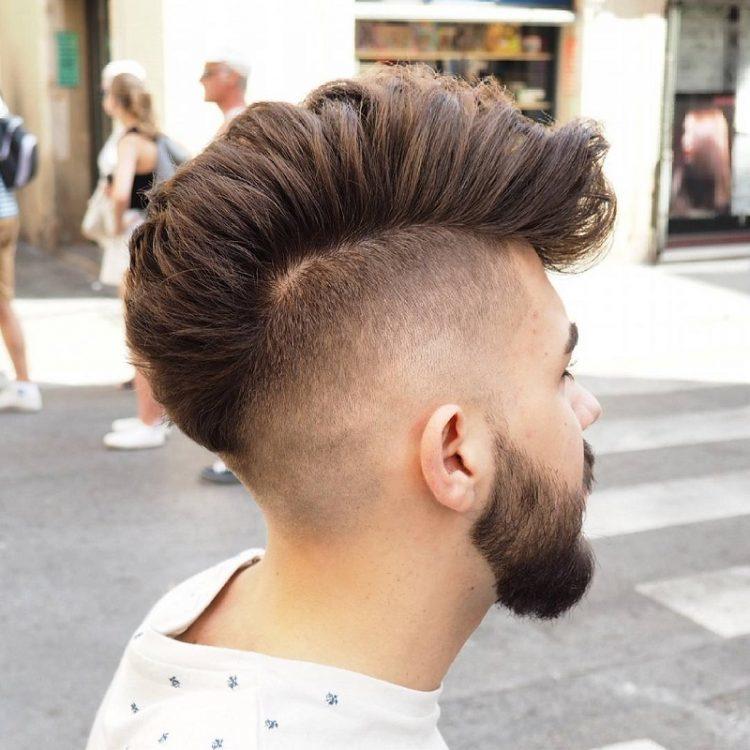 5 Damn Stylish High Blowout Haircuts For Men Hairstylecamp