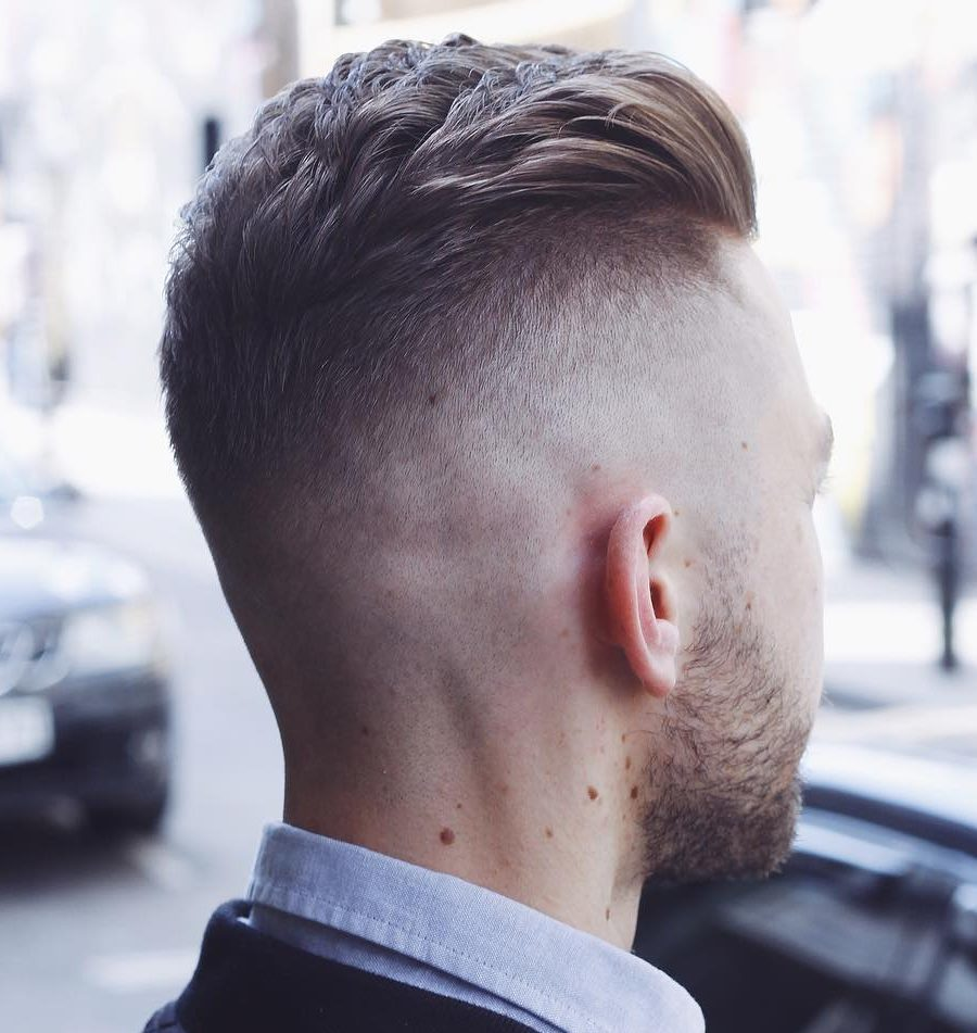 high fade hairstyle for men