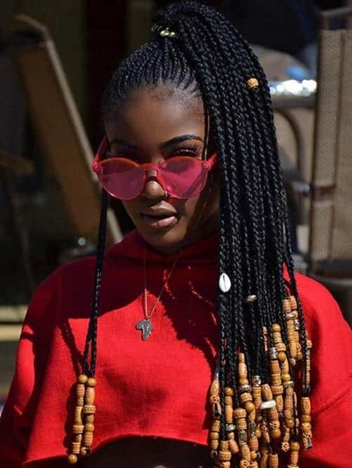 High Ponytail Braids 10 Styling Ideas To Copy In 2020