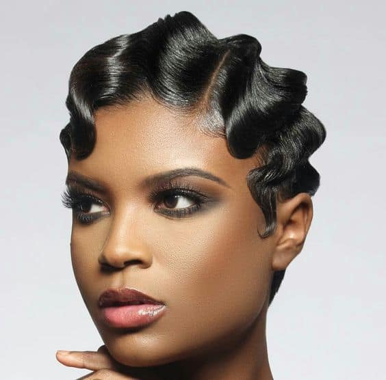 How To Do Finger Waves Beautiful Retro Hair In Minutes