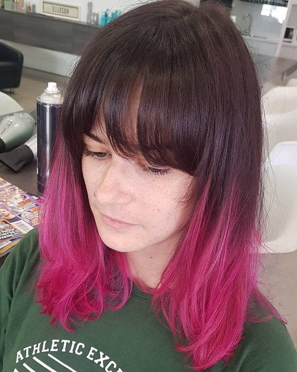 10 Stunning Hot Pink Hairstyles For Women Hairstylecamp
