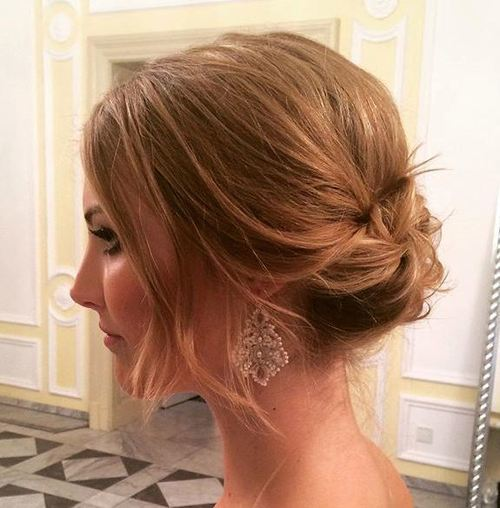 25 Stunning Messy Buns For Short Hair 2021 Trends