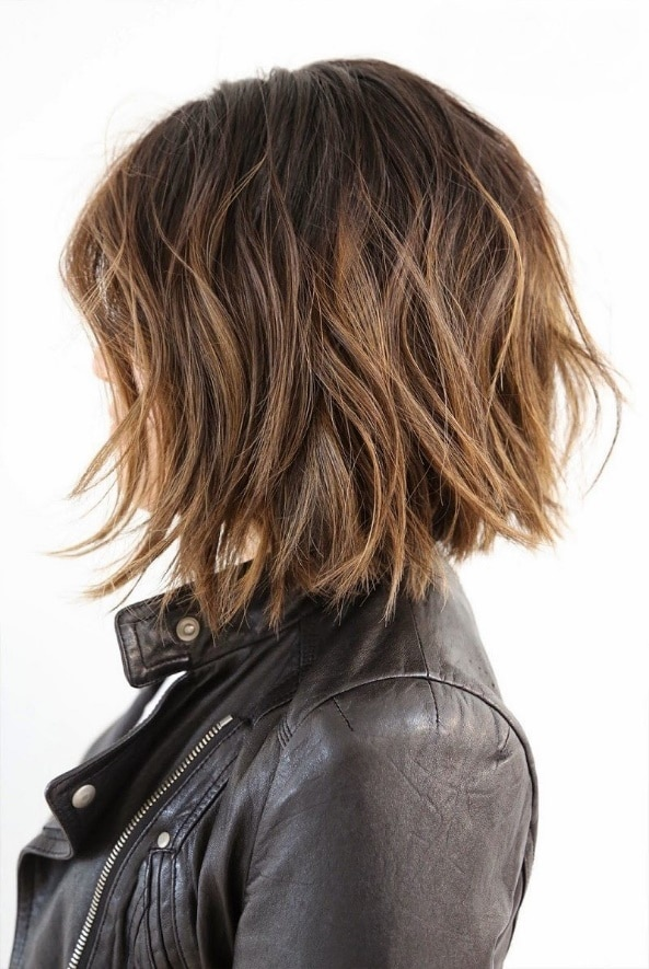 girl classic colors for short hair