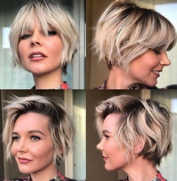 With faces bangs for hairstyles short oval 40 Flattering