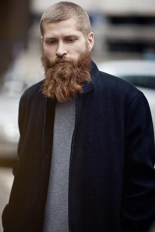 Wavy Beard Style: