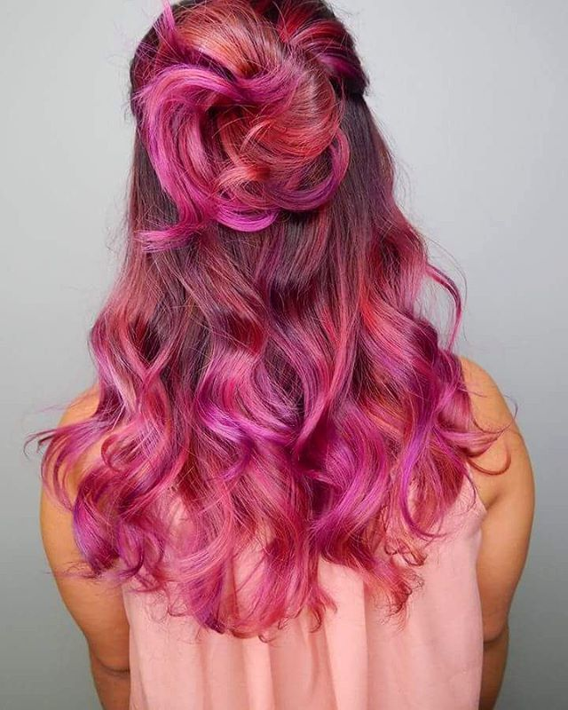 30 Stupefying Magenta Hair Color Ideas For 2018