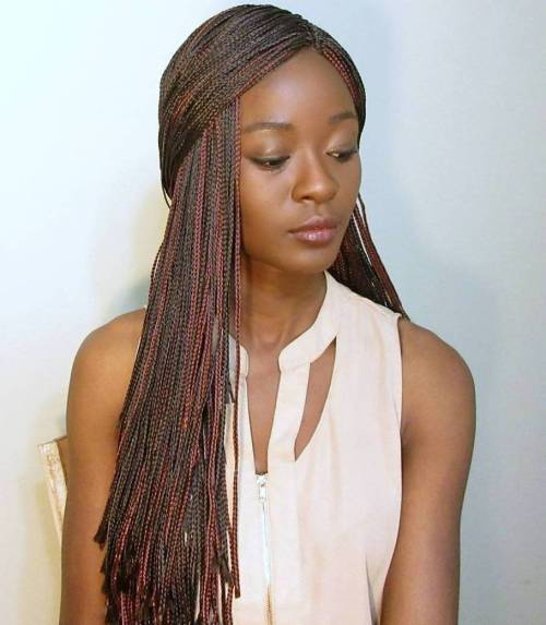 different style of braiding hair 71 sexiest micro braids hairstyles for 2019 hairstylecamp 5472