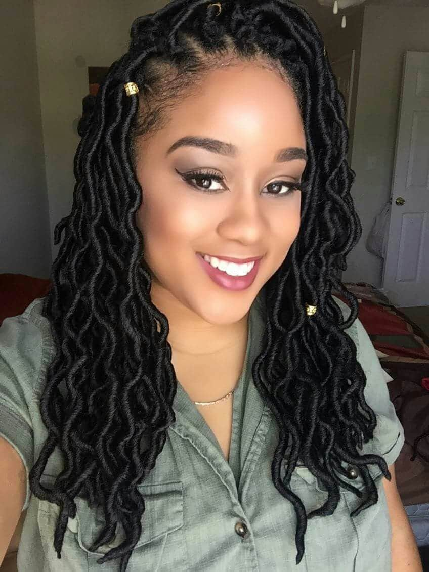 hair locks styles 25 sexiest micro braids hairstyles for 2018 hairstylecamp 1552