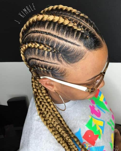 Best Kenyan Braids Hairstyles 20 Striking Ideas For 2019