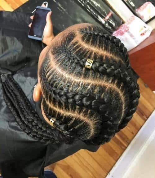 Kenyan Snake Braids for Women