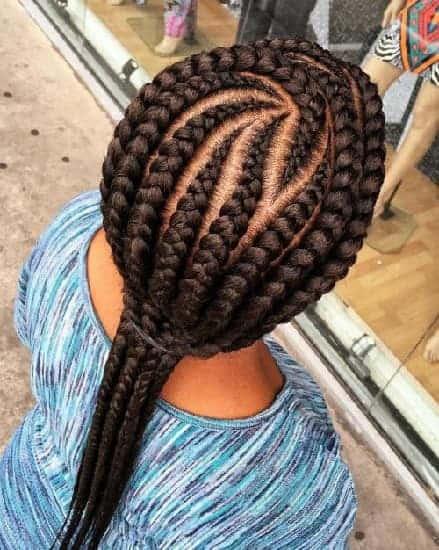 Kenyan Braid with Curves