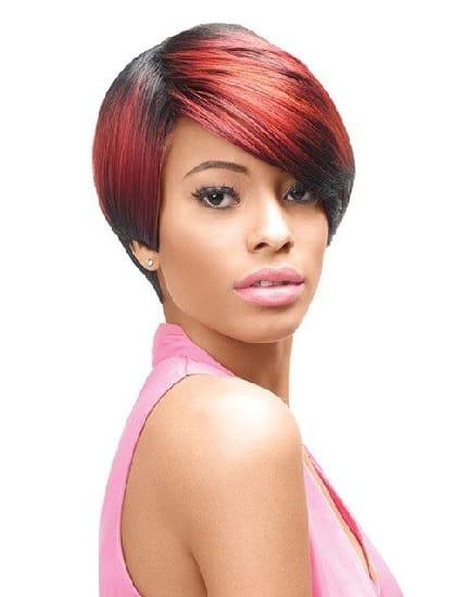 Kiki Kenyan Weave Hairstyle