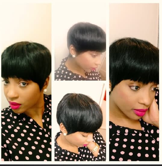 short weave hairstyles for Kenyan women