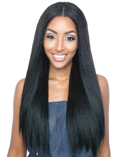 Kenyan weave for straight hair