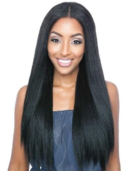 Kenyan weave for straight hair