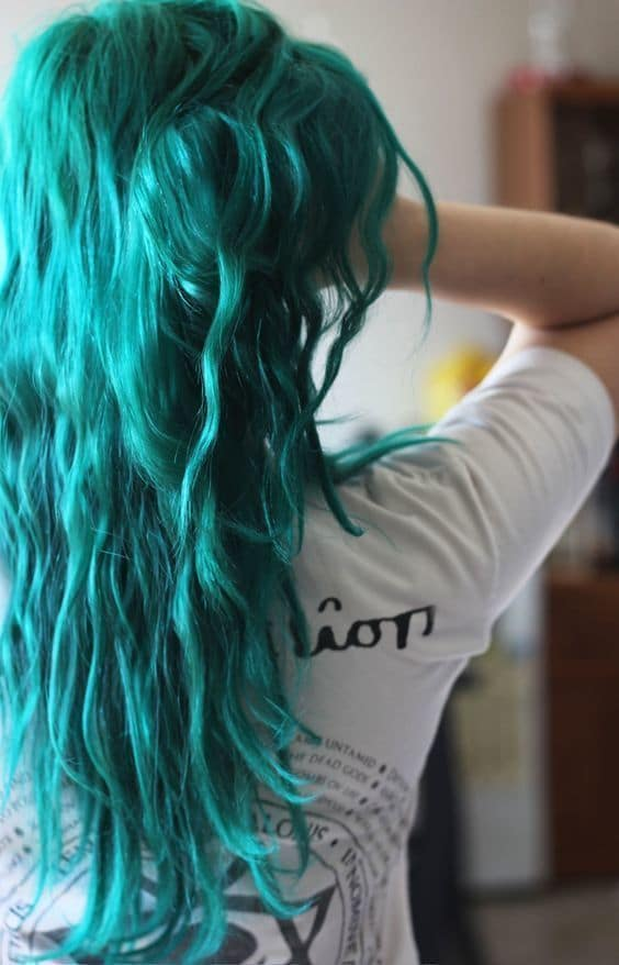 23 Teal Hair Colors To Bring Out Your Inner Mermaid Hairstylecamp
