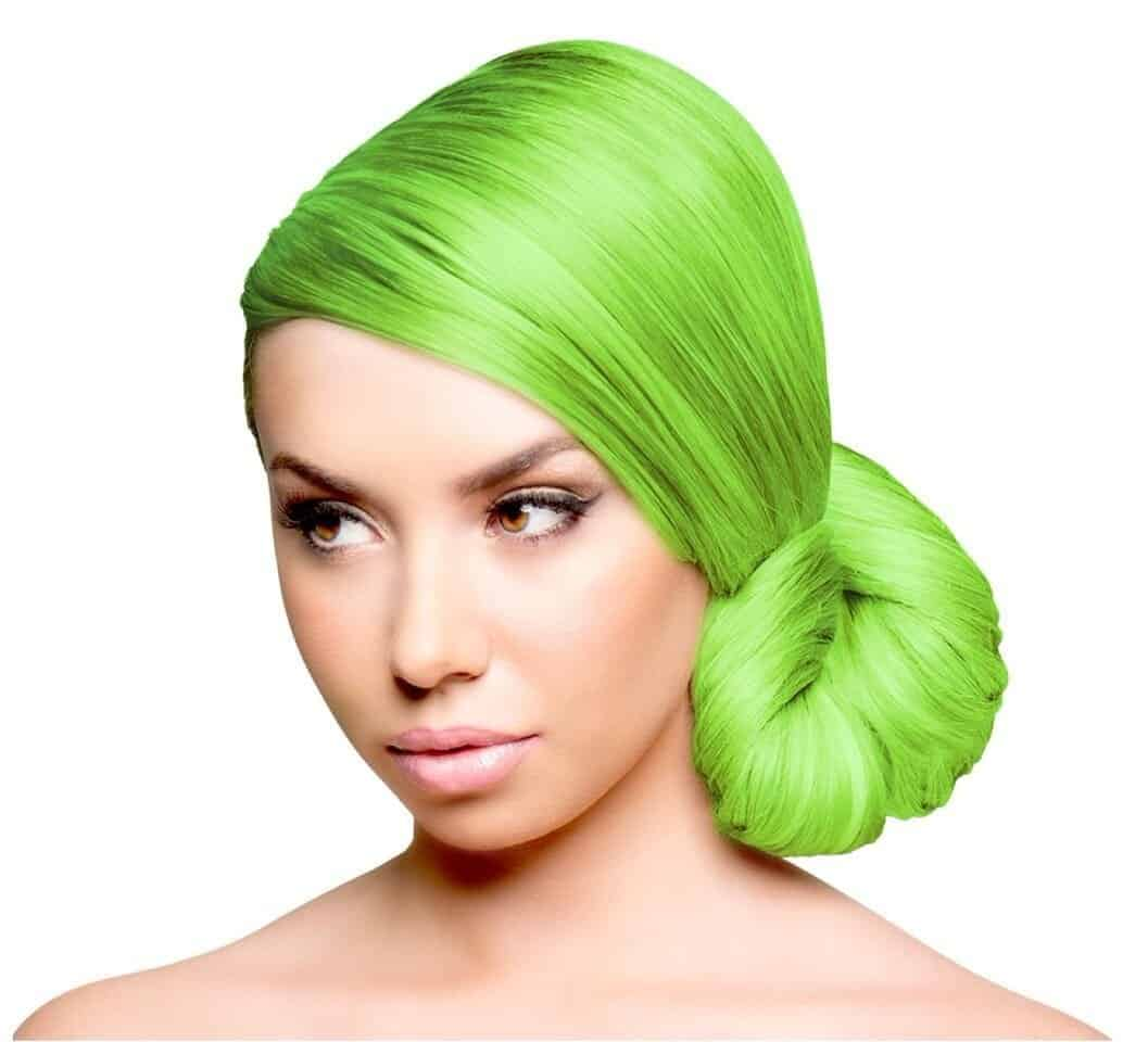 15 Bold And Vibrant Lime Green Hair Color Ideas