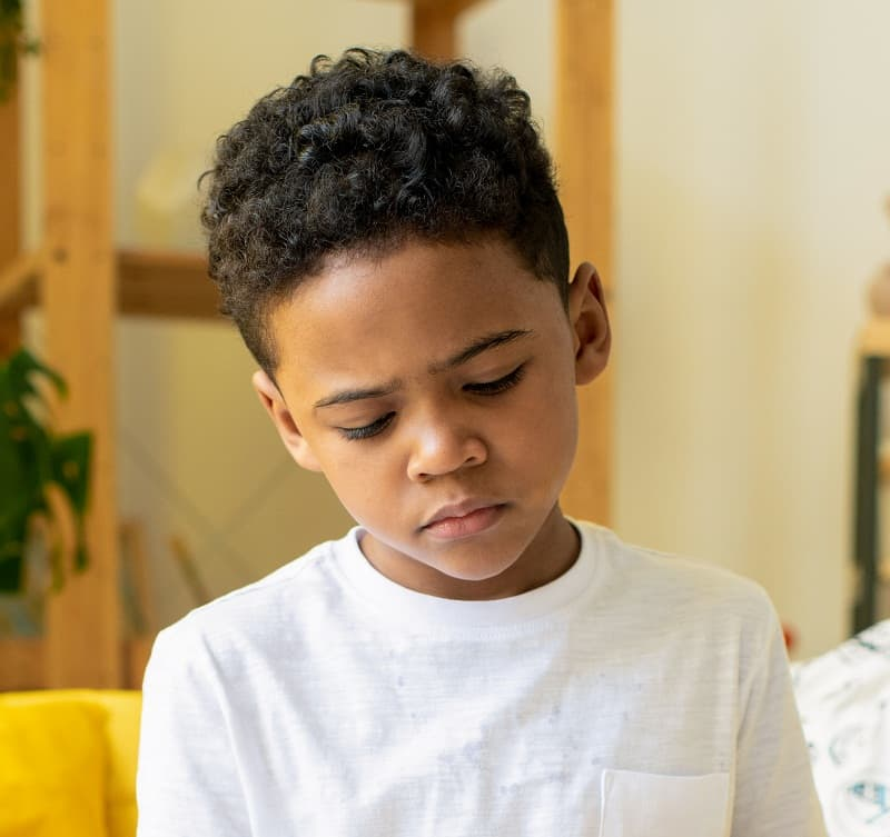 30 Charming Hairstyles For Little Black Boys 2020