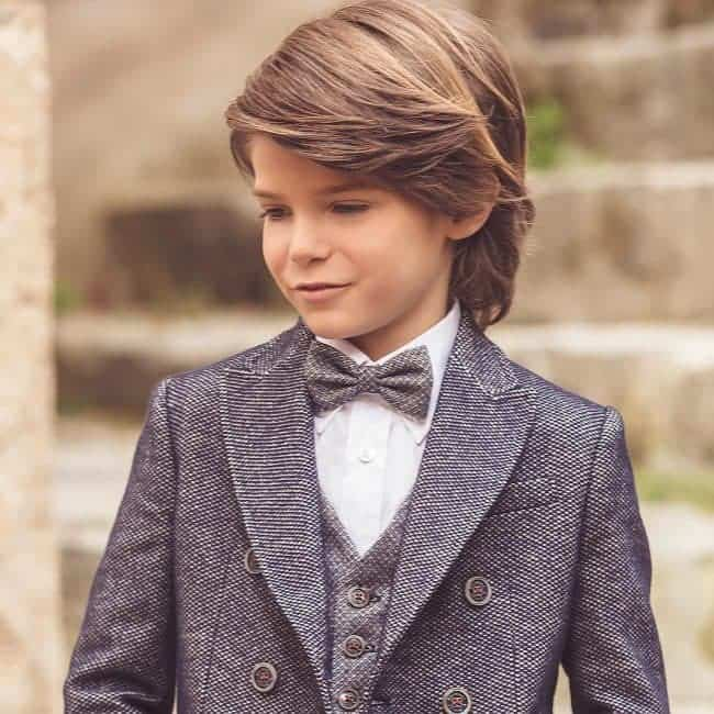 20 Lovely Little Boy Haircuts For Straight Hair