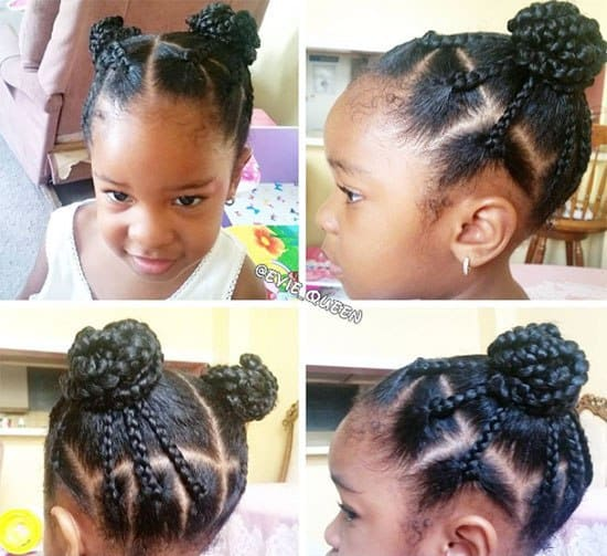 20 Striking Box Braids for Little Girls [2020] \u2013 HairstyleCamp