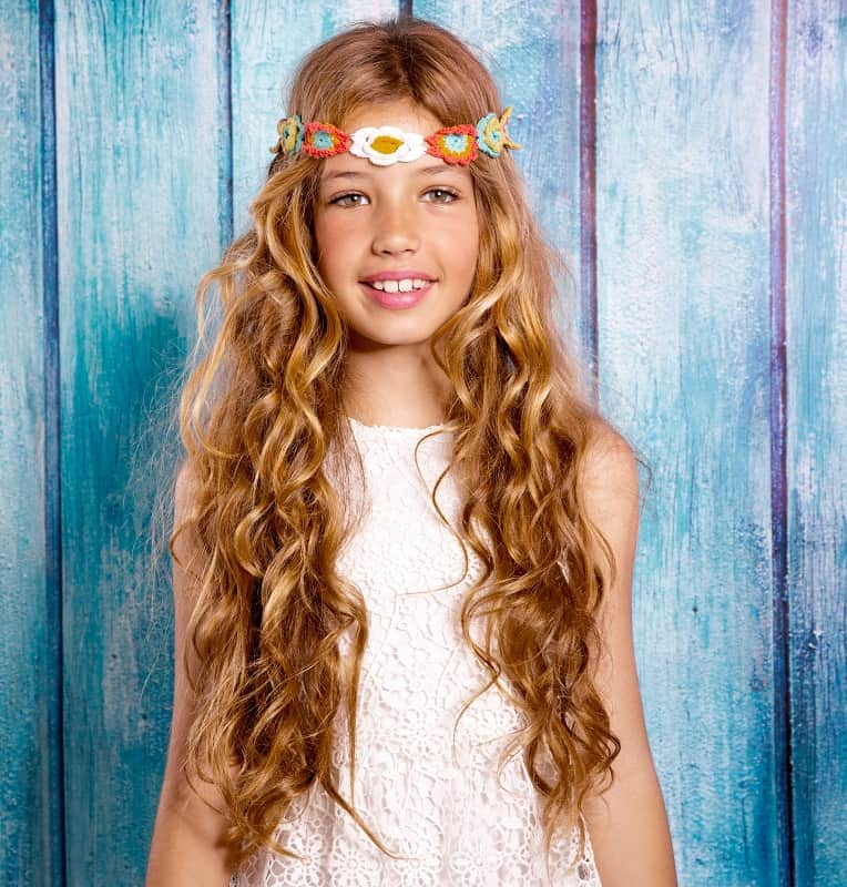 15 Quick Easy Curly Hairstyles For Little Girls Hairstylecamp