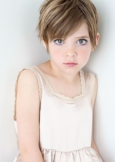 10 Unique Little Girl Pixie Cuts For 2020 Hairstylecamp,Golden Plain Saree With Designer Blouse Images