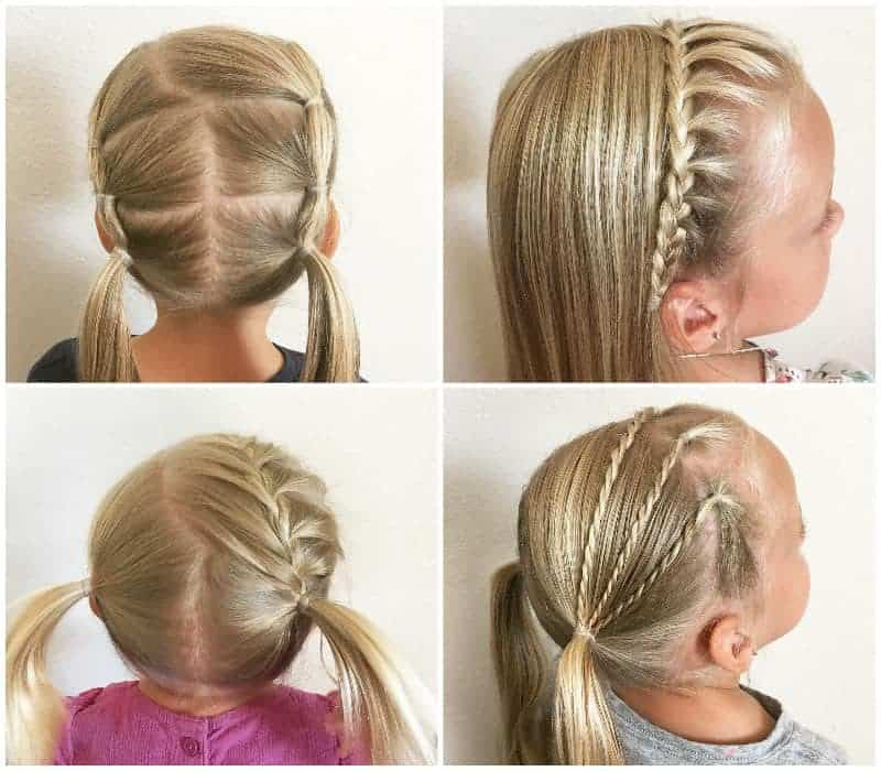 Miraculous 35 Cute Little Girl Updos Thatll Steal The Show Hairstylecamp Schematic Wiring Diagrams Amerangerunnerswayorg