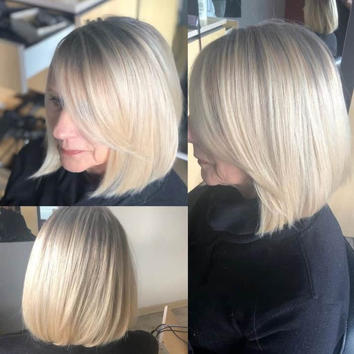 15 Ideal Bob Haircuts For Older Women 2020 Trends