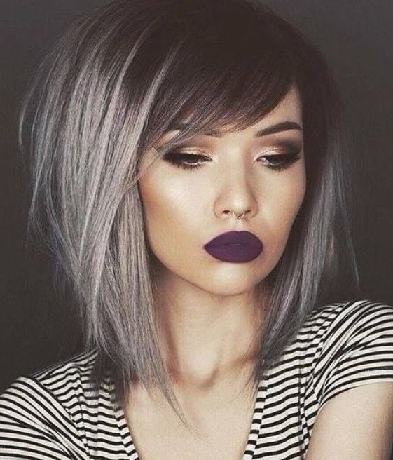 35 Amazing Long Bobs With Side Bangs 2020 Trends