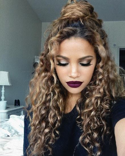 15 Classy Indian Hairstyle Ideas For Curly Hair Hairstylecamp