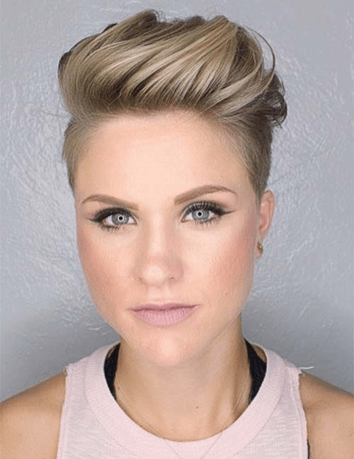 60 Unbeatable Short Hairstyles For Long Faces 2018