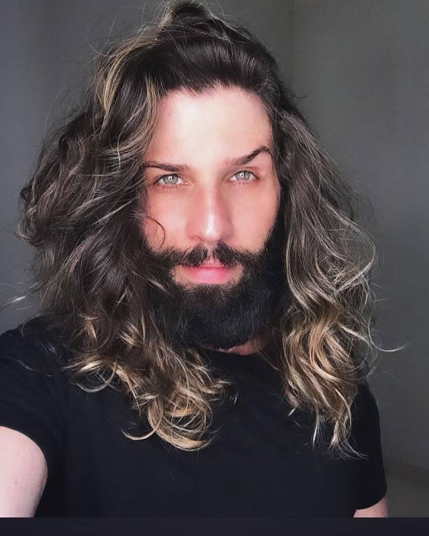 55 Best Long Hairstyles With A Beard 2021 Guide